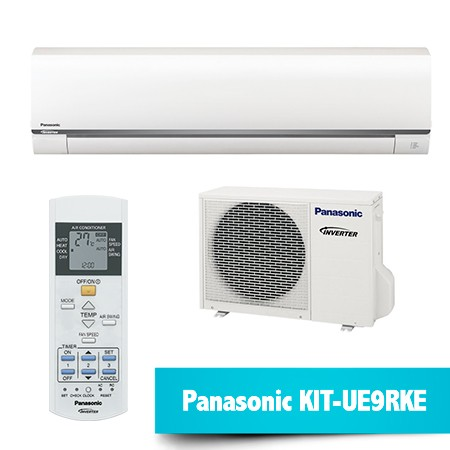 Aire Acondicionado Panasonic KIT-UE09RKE – Compresor Inverter + Split + Mando
