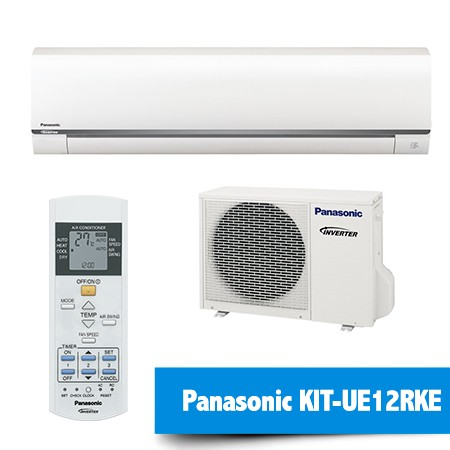 Aire Acondicionado Panasonic KIT-UE12RKE – Compresor Inverter + Split + Mando