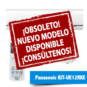 Aire Acondicionado Panasonic KIT-UE12RKE obsoleto descatalogado